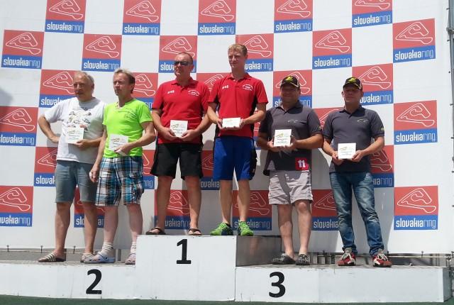 Siegerehrung_Slovakiaring_ Kimeswenger_Klinglmayer